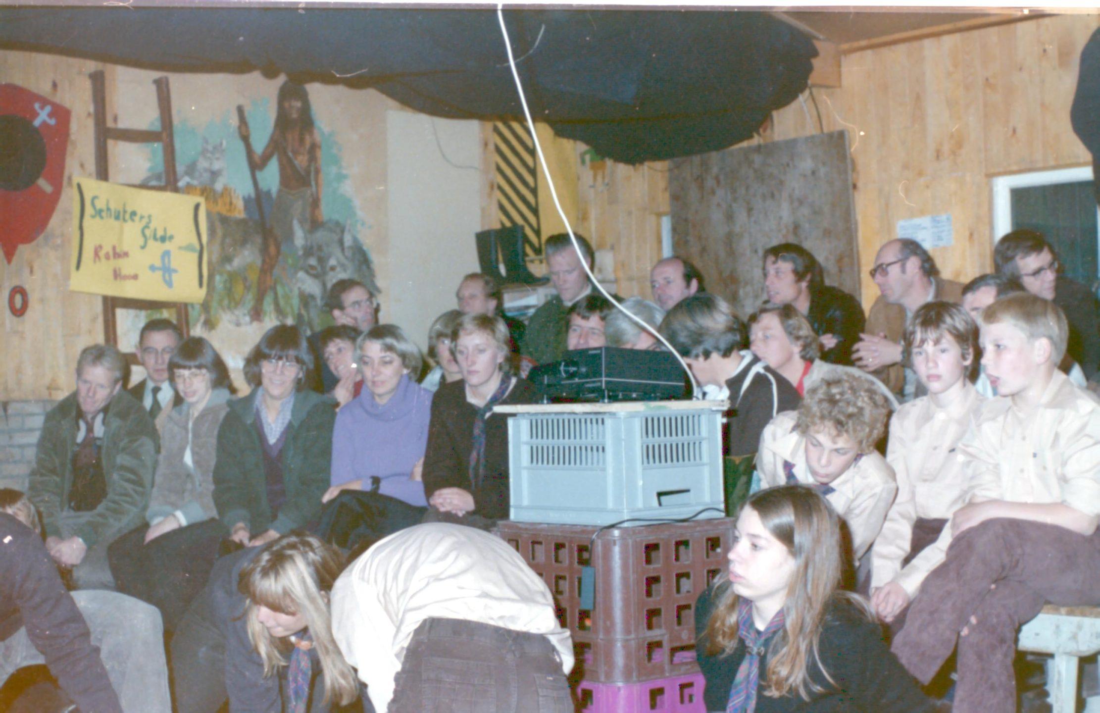 Foto in huidige verkennerverblijf